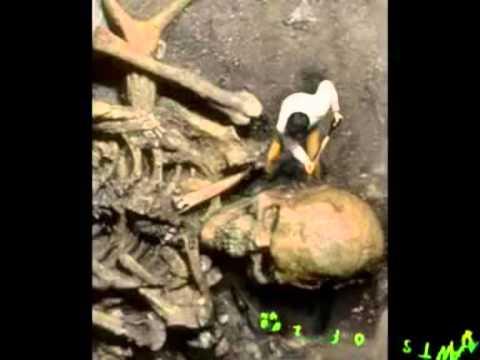 Riesen Skelett Menschen Riesen Skelette