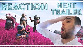 TRAILER REACTION | Multiplayer, 3rd Person, Cloud Tech, Space Battles | No Man's Sky NEXT