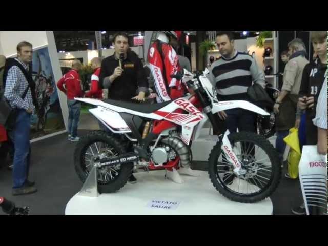 Vid�o En direct de Milan EICMA : Gas Gas EC 125 R, le retour de la petite enduro espagnole