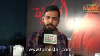 Hiphop Tamizha At Kathakali Movie Press Meet
