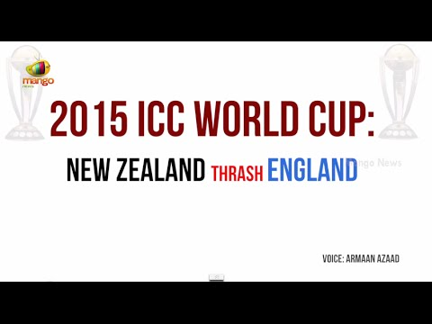 ICC World Cup 2015: New Zealand thrashes England | Mango News special