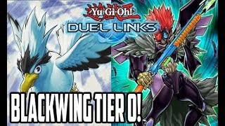BLACKWING DECK TIER 0!!! - Yu-Gi-Oh! Duel Links - #ZeroTG