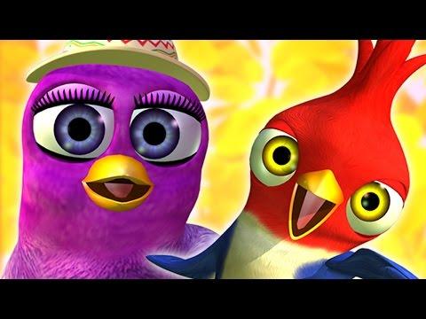 Птичка Гайта - детские песни   Детское Королевство