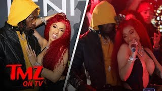 Cardi B Grinds Up On Offset While Performing Tmz Tv