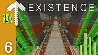 RAILWAY INTERSECTION and Stuff | Minecraft Existence Server Let