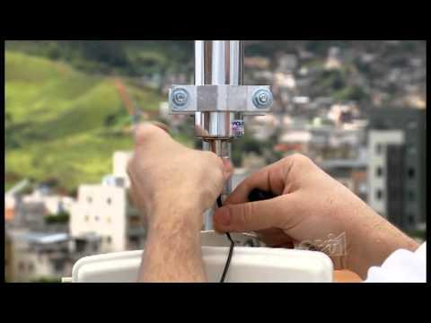 Clique e veja o vídeo Curso Antenas de Comunicação Wireless - Conectando 3 Prédios