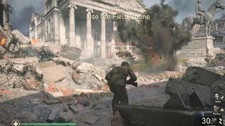 WW2 - Tanks & Rescue Mission in Aachen - Collateral Damage - Call of Duty WW2
