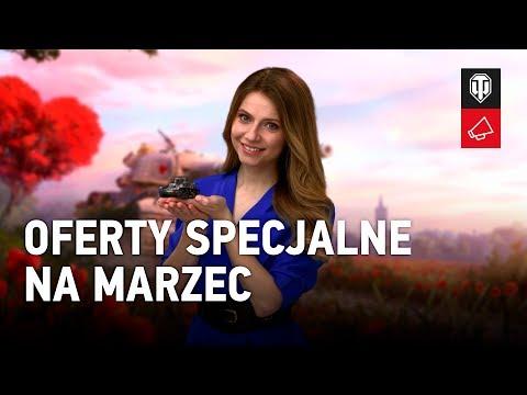 Play this video Oferty specjalne na marzec World of Tanks Polska