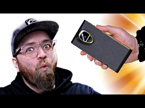 Unboxing The $20.000 Smartphone