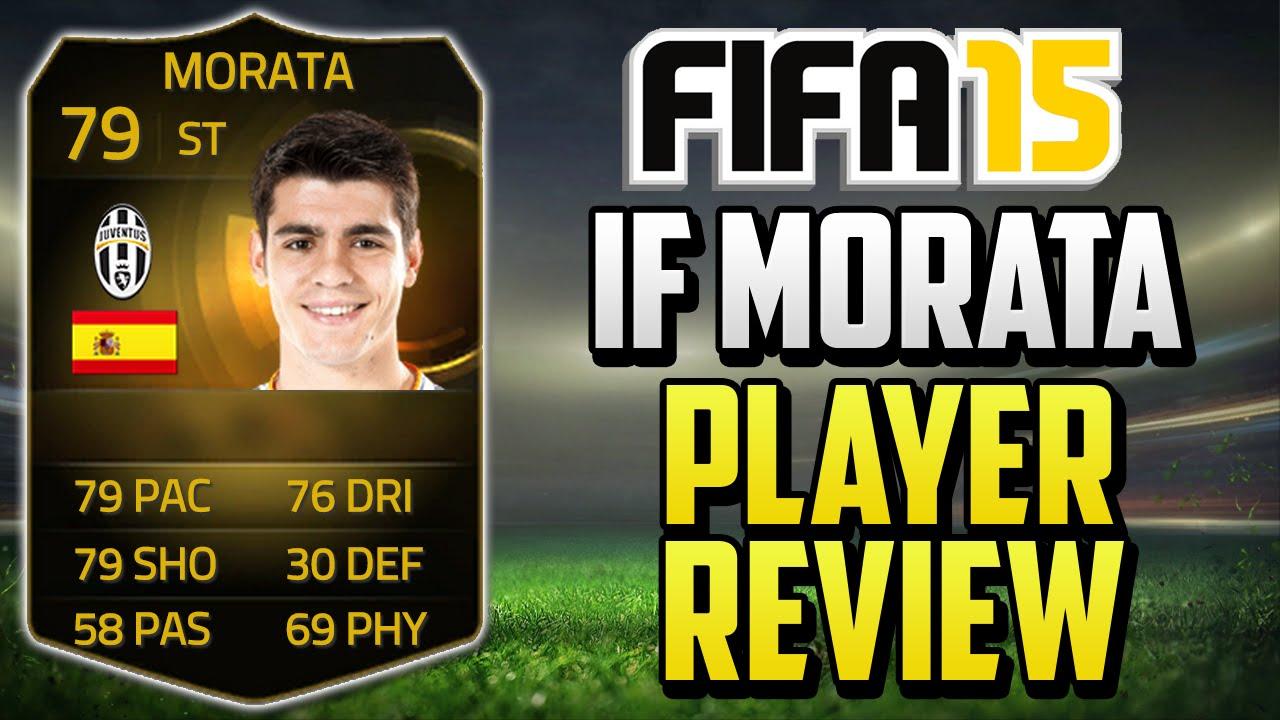 Alvaro Morata Fifa 15 Fifa 15 if Morata Review 79