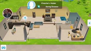 Playing the Sims Mobile! Based off of The Ace Family #4!