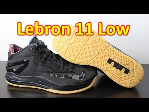 Nike Lebron 11 Low Black/Gum - Review + On Feet
