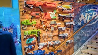 NEW 2018 NERF BLASTERS! TOY FAIR COVERAGE!