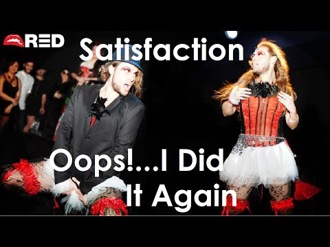 RED: Britney Spears - Satisfaction / Oops!...I Did It Again