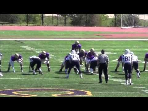 Brian Wallace's 2012 Football Highlights - Christian Brothers College High School