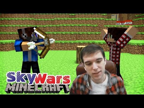 Я УБИЛ ХЕПИСА (СВИНА) [Hypixel Sky Wars Minecraft Mini-Game]