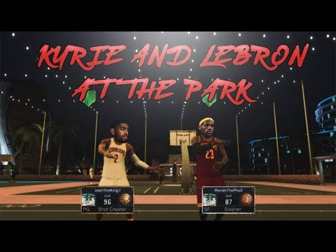OMG LEBRON JAMES AND KYRIE IRVING EXPOSED AT THE PARK!
