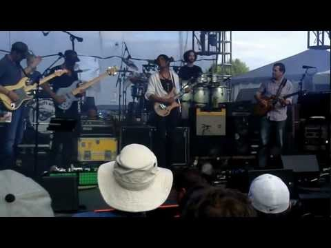 Umphrey's McGee with Stanley Jordan at moedown 8-12-2012 - 40's Theme