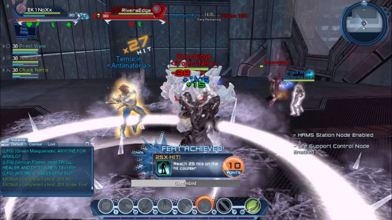 dc universe online quantum dps pvp loadout youtube