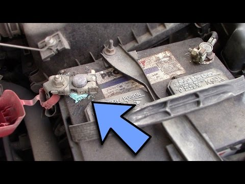 How to clean car battery terminals - Troubleshoot #1 Car won't start