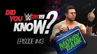 WWE 2K19 Did You Know? Fake MITB Cash In, Backstage GM Cutscenes, Movie Mention & More! (Episode 43)