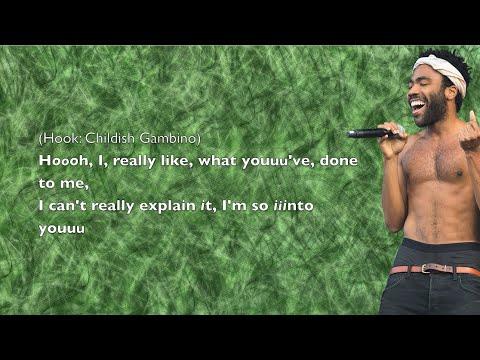 Childish Gambino  So Into You   Lyrics