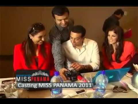 Resumen del Casting de Miss Panamá 2011