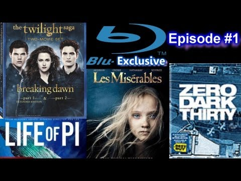 Blu-Exclusive - Twilight Saga Breaking Dawn, Hobbit, Life of Pi, Zero Dark Thirty, Les Miserables
