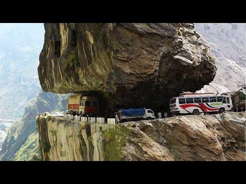 8 Most Dangerous Roads On Earth