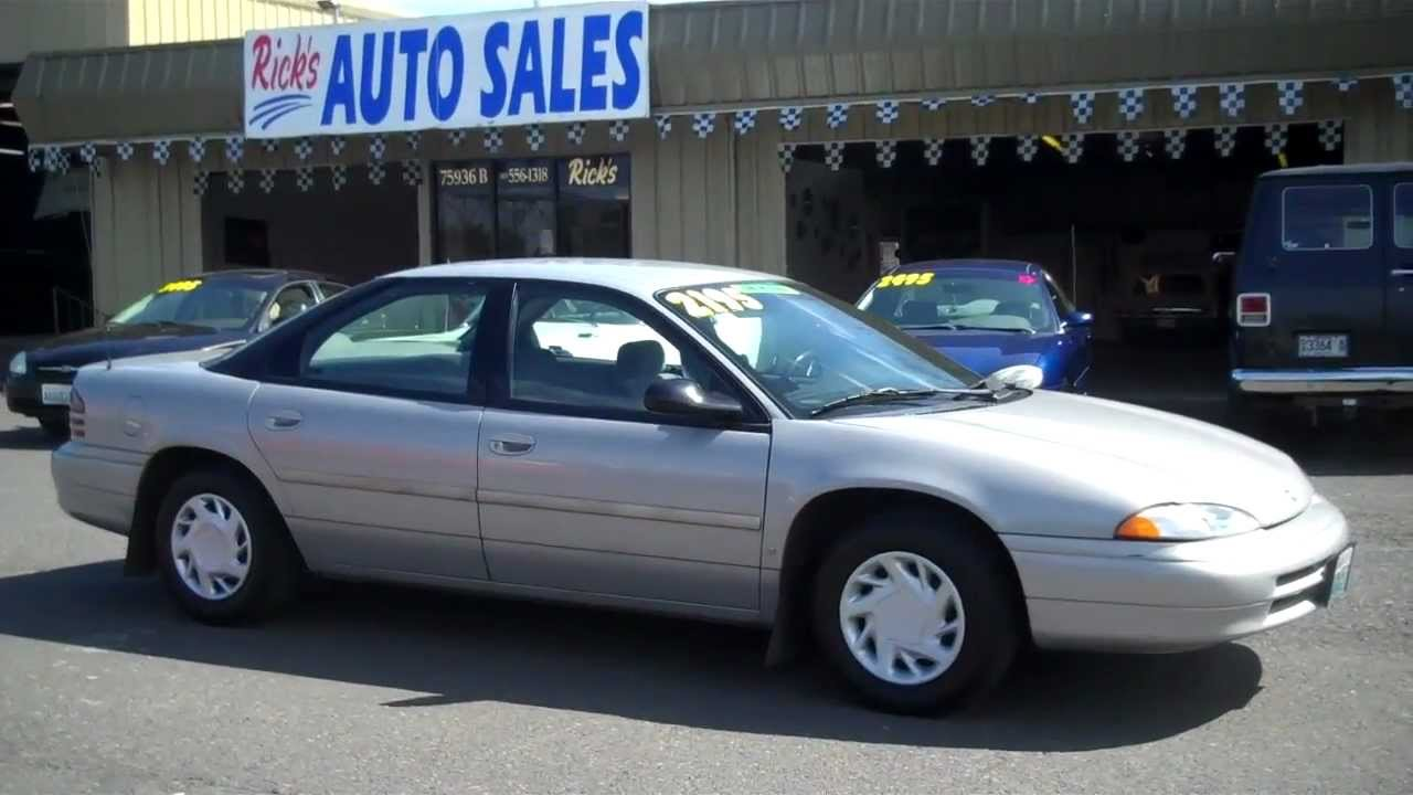 1995 Dodge Intrepid Sold