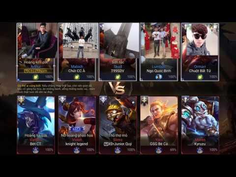 Nam cơm rang and thiết bị OQC troll game liên quân Bá Ngọc , Minh Thông , Quốc Bình , Nguyễn Chí