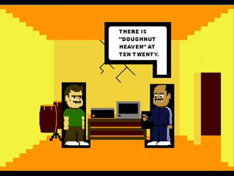 The Ian Goodman Show: Going To The Movies, 8- Bit Cartoon, (comic Version) video