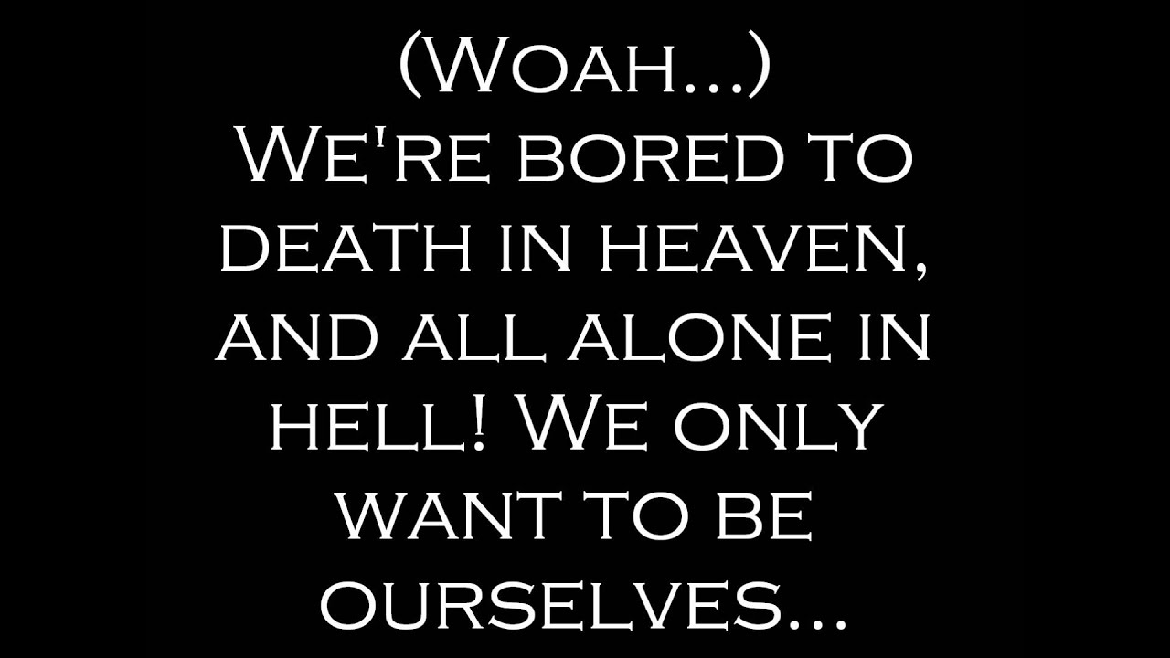 Fallen Angels - Black Veil Brides Lyrics - YouTube
