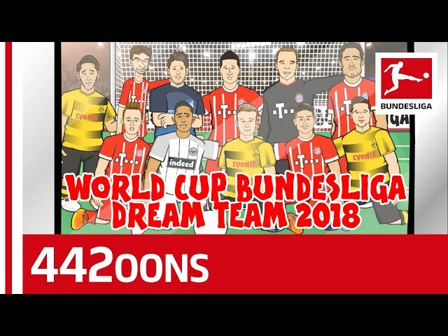 The World Cup Bundesliga Dream Team First XI - Powered by 442oons