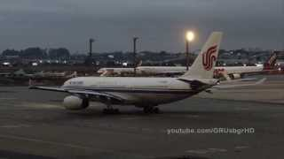 [ HD ] Air China A330-243 at Guarulhos GRU SBGR