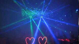 American DJ Spherion Tri LED Music Lifeline DJ test www.indianapolisdj.net
