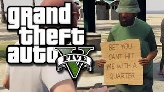 GTA 5 Online, Funny Moments, Vanoss Vs. Bicycle, Launch Glitch, Lui Calibre Prank Calls his Mom!