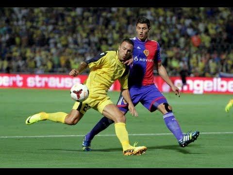 Champions League Qualifiers Maccabi Tel Aviv VS FC Basel 3:3