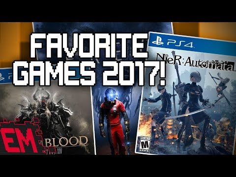 Our Favorite Games of 2017!  SECRET HISTORY OF ROB REVEALED!