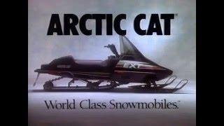 1991 Arctic Cat Snowmobile Lineup Models Sales Promo Video