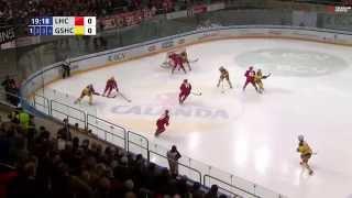 Lausanne Hockey Club – Genève-Servette HC 1-4