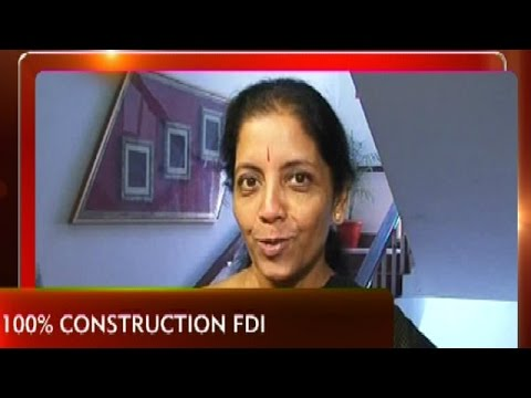 EXCLUSIVE: Nirmala Sitharaman On FDI In Construction & Ease Of Doing Business In India