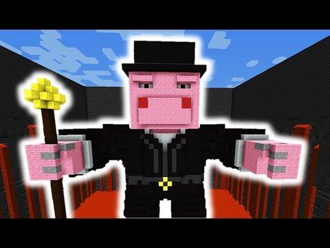 Minecraft: New 1.8 Piggy Boss Battle! video