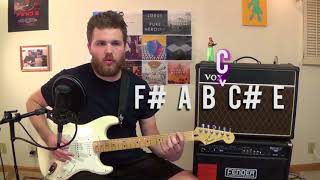 EASY Indie Chord Lesson - The Tritone Chord - Basic Music Theory