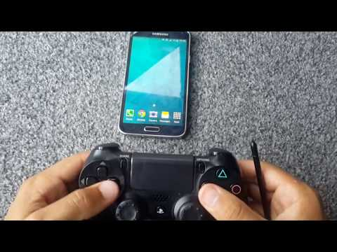 Connecting PS4 pad to Galaxy S5 (WIRELESS)