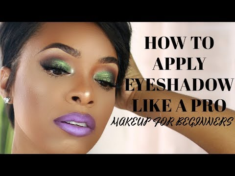 MAKEUP FOR BEGINNERS: HOW TO APPLY EYESHADOW LIKE A PRO! (TECHNIQUES. BRUSHES & PLACEMENT)