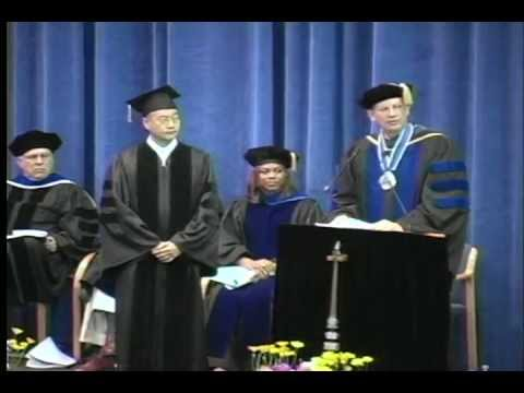 WWU Spring Commencement 2012 - Honorary Doctorate of Fine Arts to Do Ho Suh