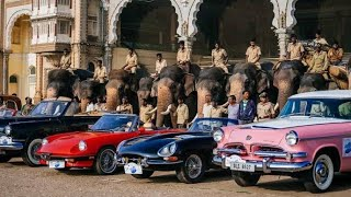 Top Old Vintage Cars Expo In India Mysore.