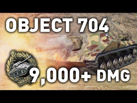 World of Tanks || Object 704 - 9,000+ DMG