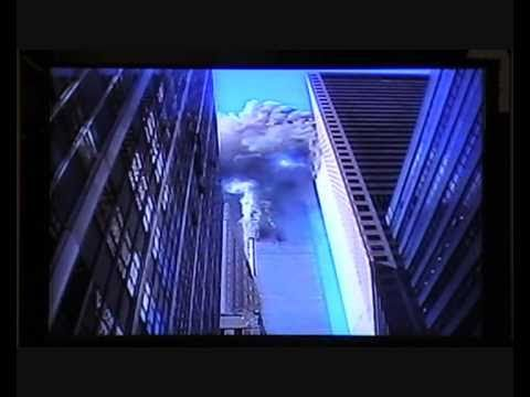 9/11 2001 Nine News Melbourne Australian News coverage of World Trade Center Attacks Peter Hitchener